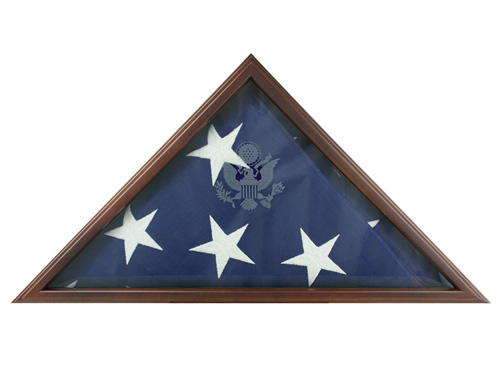 Memorial American Flags Storage Cases