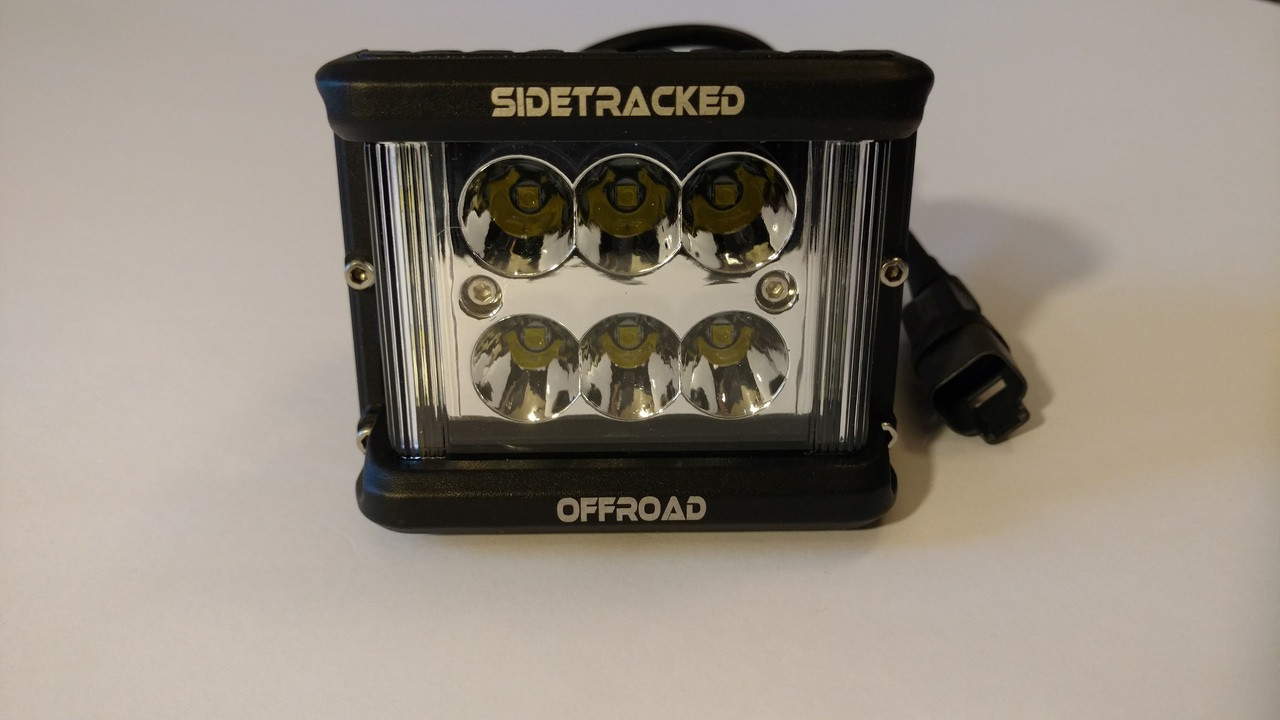 Tracker T6 Wide Throw LED Light Pod (60W)