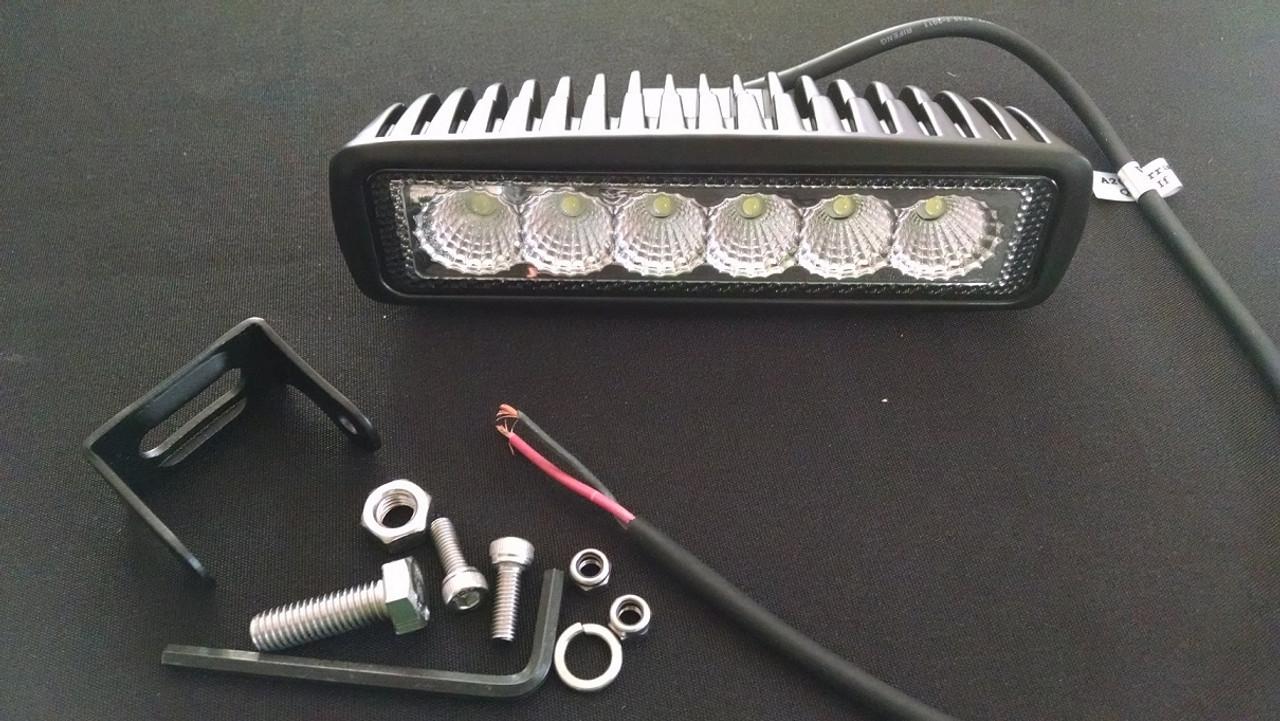 """Tracker 6"""" Single Row Light Pod"""
