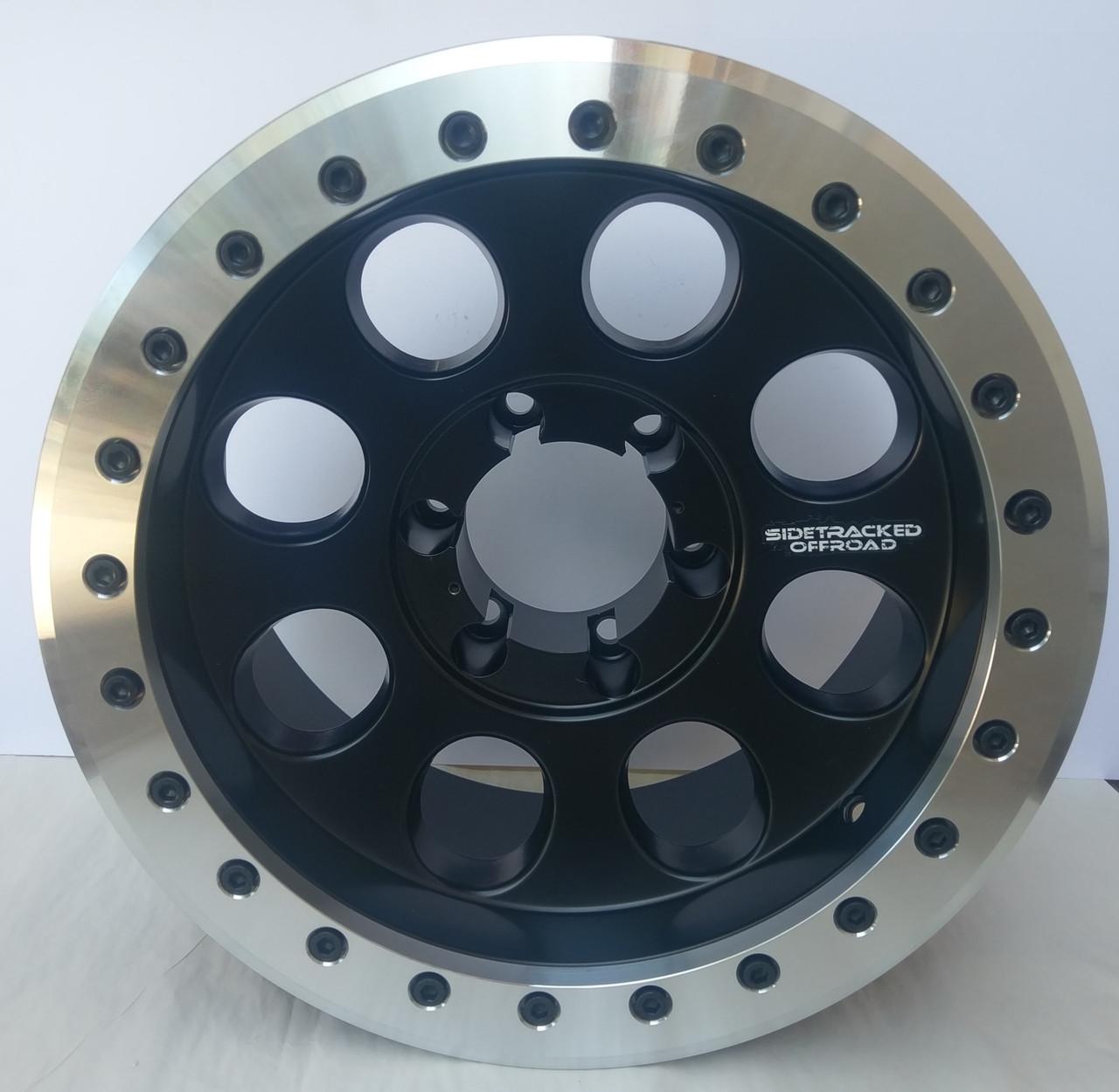 Sidetracked Aluminum Beadlock Wheel