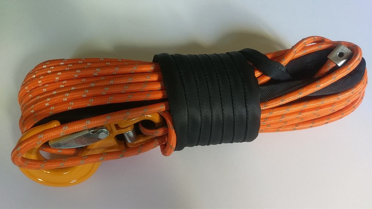 Double Braid Synthetic Winch Line