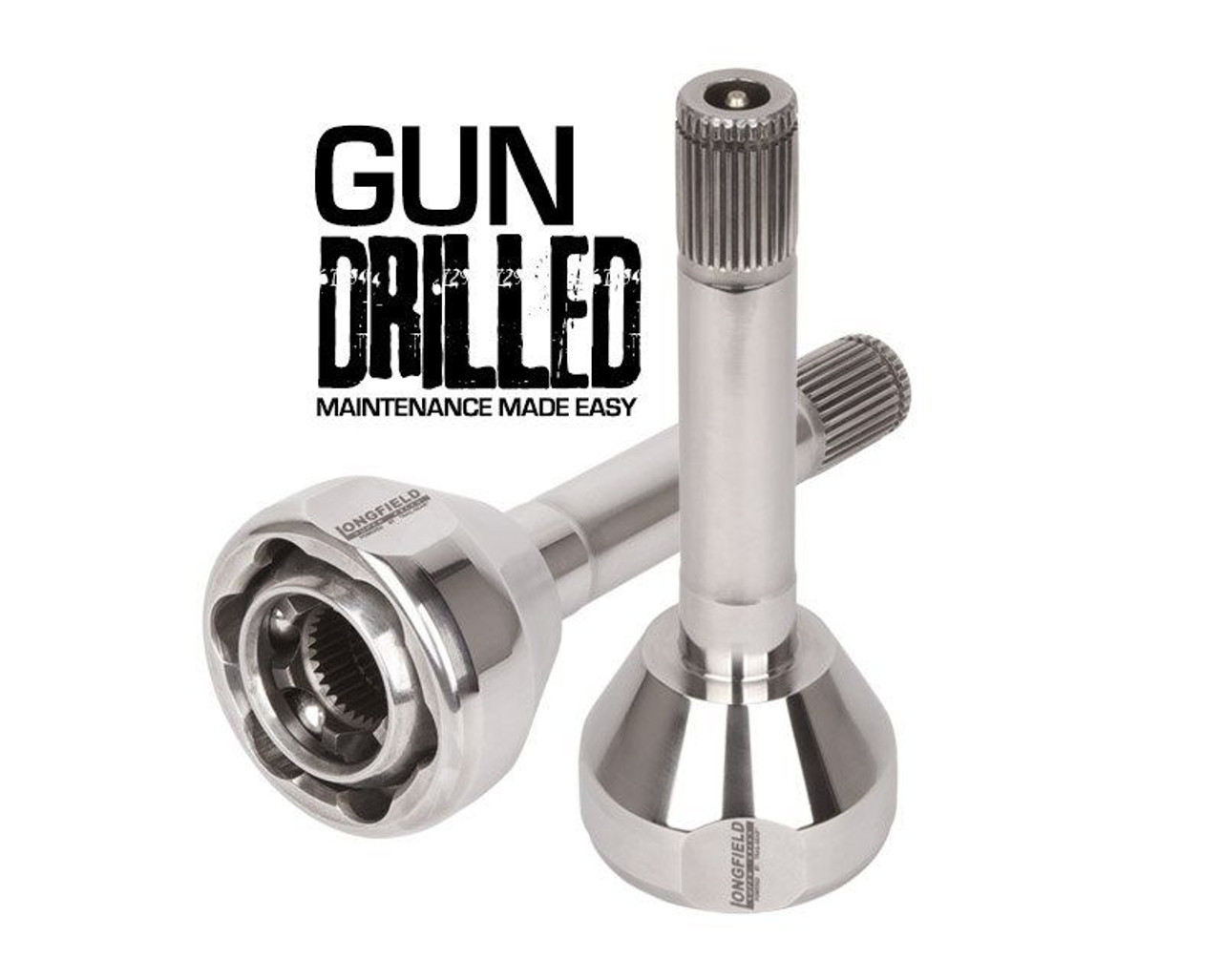 Longfield 30-Spline Gun Drilled Super Set