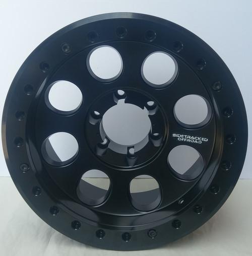 Sidetracked RH Aluminum Beadlock Wheel