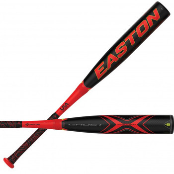 "Easton 2019 USA Ghost X Evolution -8 Baseball Bat (2 5/8"")   YBB19GXE8"