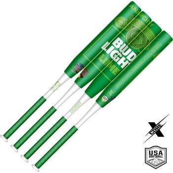 2021 Anarchy Bud Light Lime Collectors Edition 2PC – 13″- 1oz End Load – USA/ASA Slowpitch Softball Bat