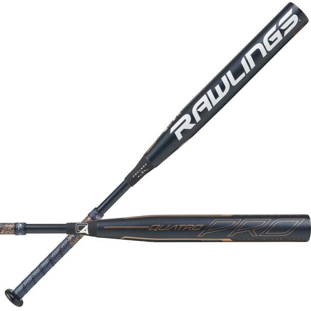 Rawlings 2020 Quatro Pro (-10) Balanced Fastpitch Softball Bat   FPZP10