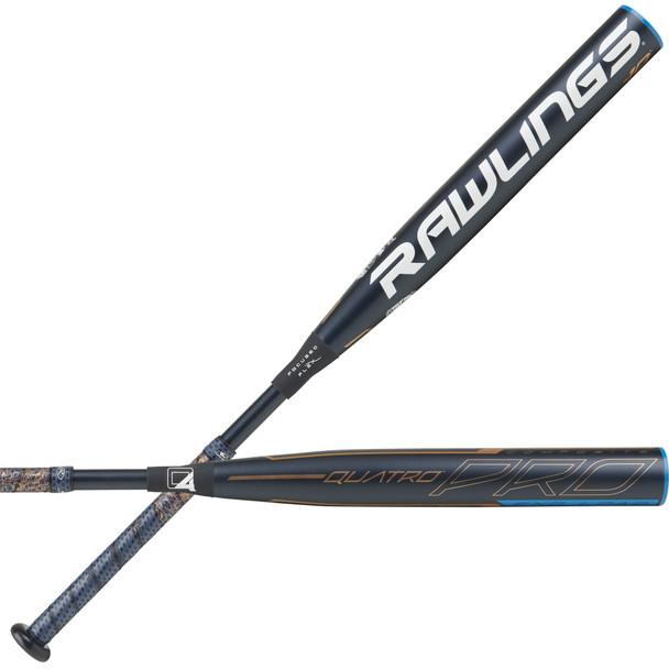 Rawlings 2020 Quatro Pro (-10) End-Loaded Fastpitch Softball Bat   FPPE10