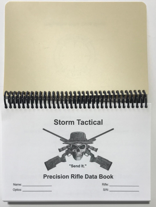 Storm Tactical Coil Bound Precision Rifle Data Book