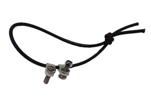 Elastic cord for tailgate incl. mounting clamp