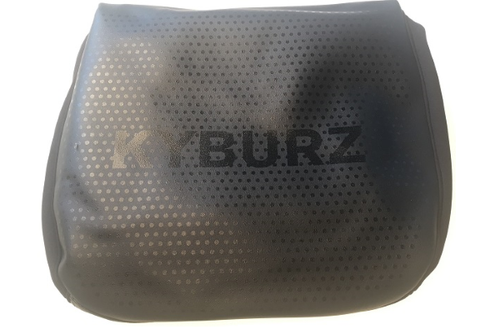 Seat cover with anti-slip coating