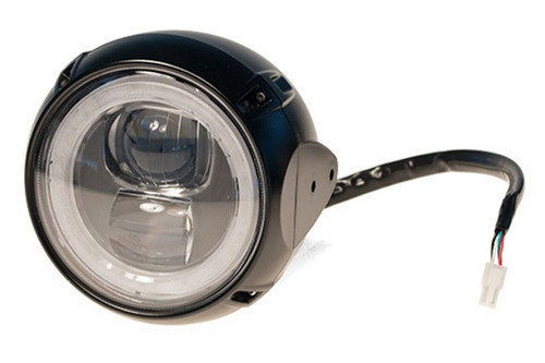 "Headlight LED 4 3/4"", Hi/Low beam & Position all LED (12V 22/22W) (Frontlamp)"