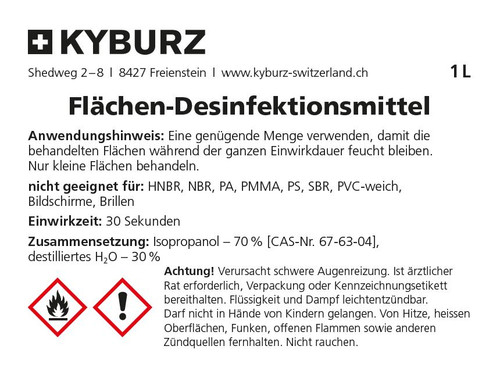 Surface disinfectant, 1 Liter
