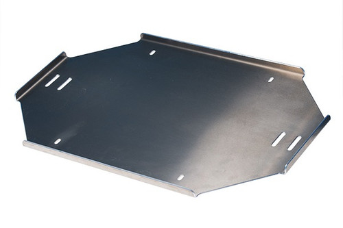 Crate retaining plate front for DXP 4