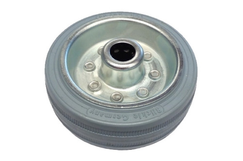 Solid rubber wheel for support wheel PAH