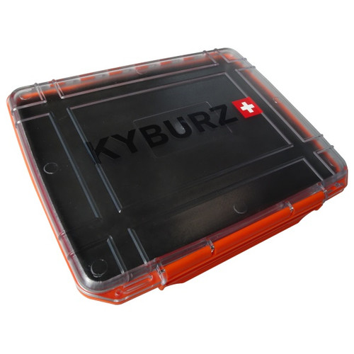 Waterproof document case with magnetic pads