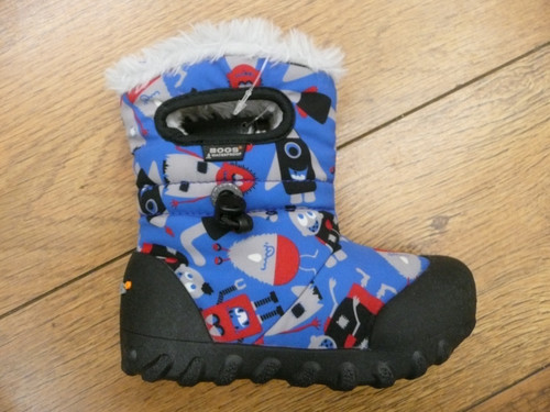BOGS Black and Blue Monster Boots