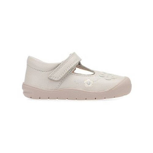 Startrite First Mia Taupe First Walking Riptape Shoes G Fitting