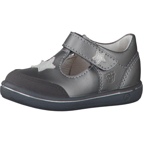Ricosta Pepino Mandy Pewter Star T-Bar Scuff Toe Shoe