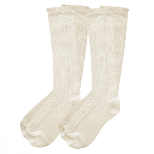 Pex Classic 2pp Knee High Socks IVORY/IVORY