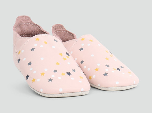 Bobux Blossom Milky Way Pink Soft Soles