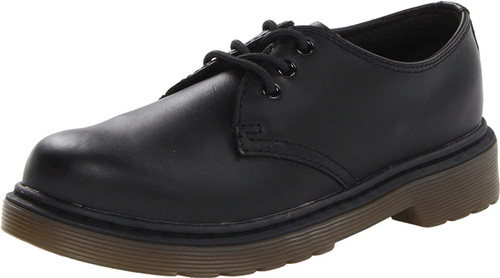 Dr Martens Everley 1461 YOUTH Blk Leather Lace Shoe
