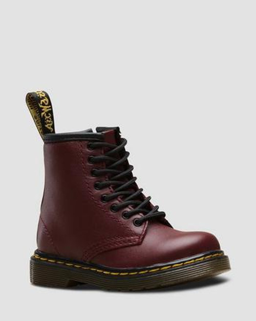 Dr Martens Cherry Red Toddler 1460 Boot