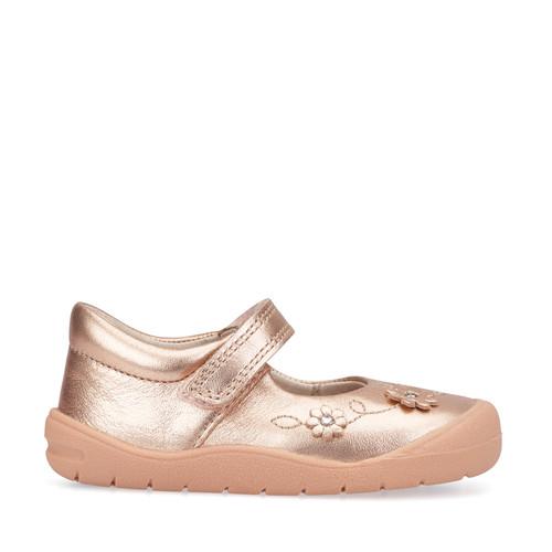 Startrite Flex Rose Gold (F) First Walking Mary Jane Shoe