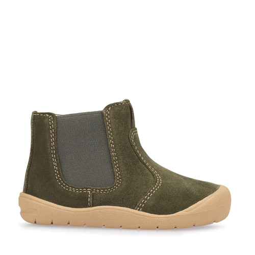 Startrite First Chelsea Khaki Suede (G) Boot