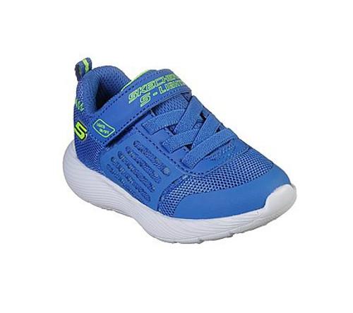 Skechers Dyna-Lights Blue & Lime Light Up Toddler Trainer