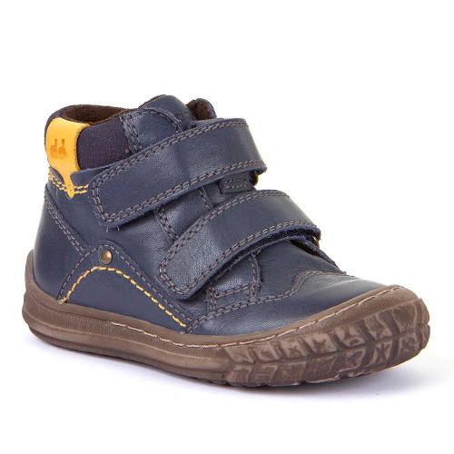 Froddo Navy Rip Tape Rubber Toe Ankle Boot