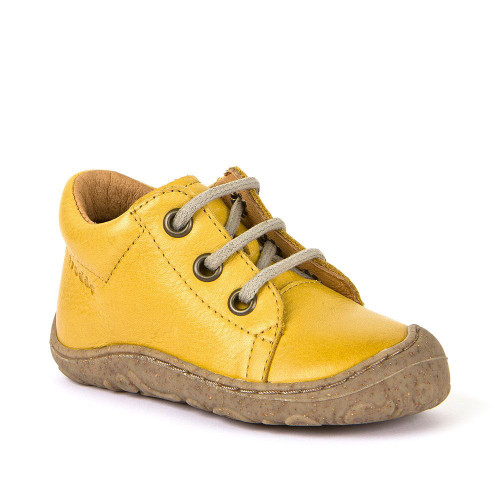 Froddo Yellow Lace First Boots