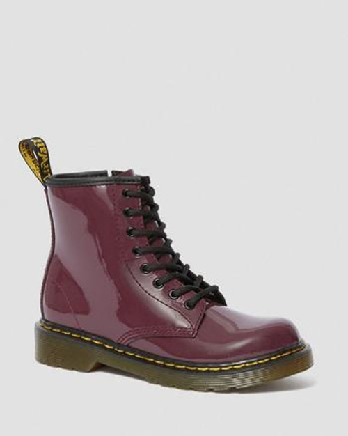Dr Martens Plum Patent Toddler 1460 Boot