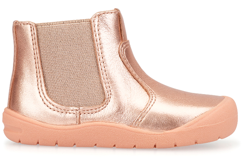 Start-rite First Chelsea Rose Gold Leather (F)