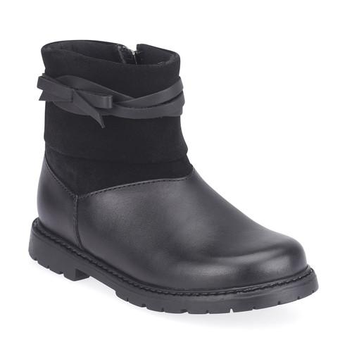 Start-rite Whisper (F) Black Leather Boot