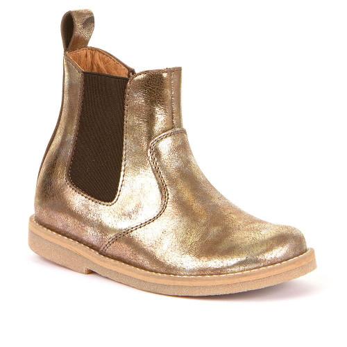 Froddo Gold Metallic Chelsea Boot