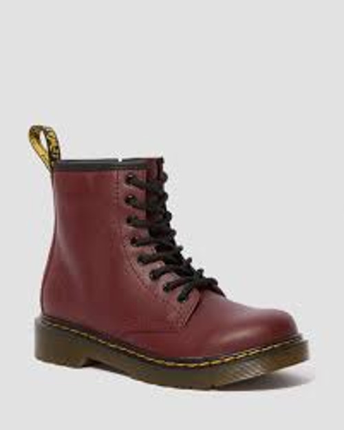Dr Martens Cherry Red Junior 1460 Boot