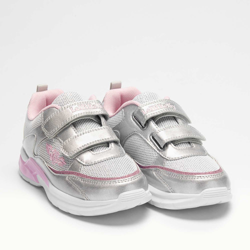 Lelli Kelly Margot Luci Silver & Pink Light Up Girls Trainers