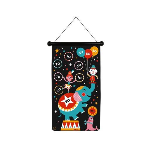 Janod Magnetic Darts Game - Circus