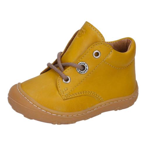 Ricosta Cory Mustard Yellow Lace Boot