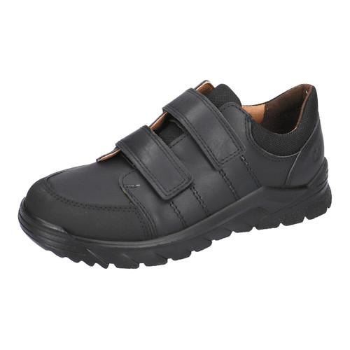 Ricosta Johno Black Leather Scuff Toe Shoe