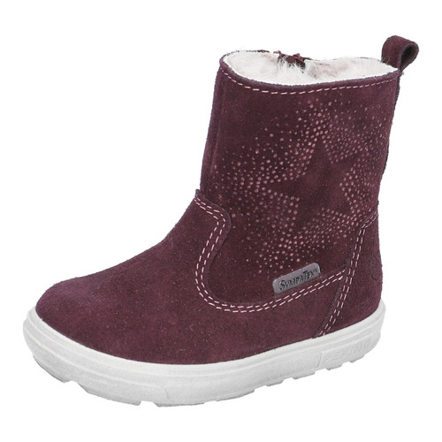 Ricosta Cosi Plum Suede Out Dry Waterproof Girls Winter Boots 72 2721800/392