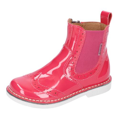 Ricosta Dallas Cherry Pink Patent Chelsea Boot
