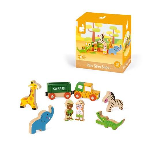 Janod Wooden Mini Story Box Character Set