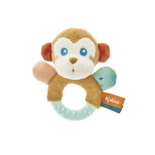 Kaloo Jungle Teething Rattle Sam The Monkey