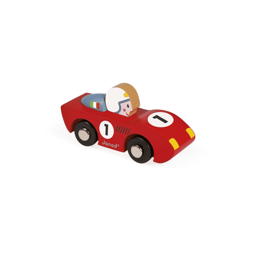 Janod Story Wooden Racing Speed Car