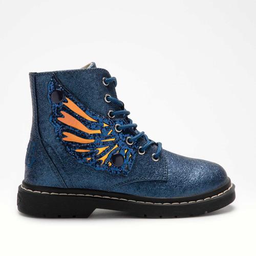 Lelli Kelly Fairy Wings Angel Blue Pearlised Boots