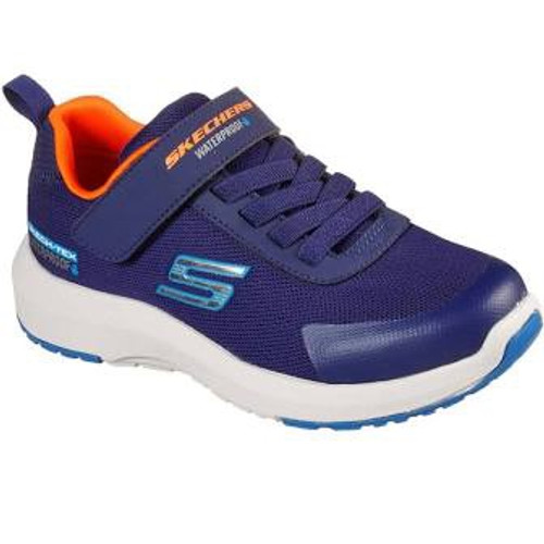 Skechers Dynamic Tread Hydrode Navy Rip Tape Trainers