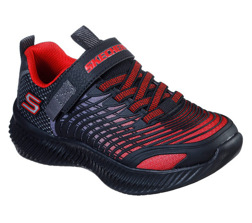 Skechers Optico Navy & Red Trainers