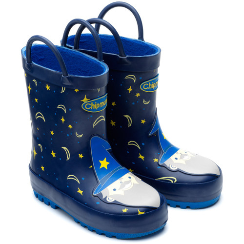 Chipmunks Merlin Blue Wizard Wellies