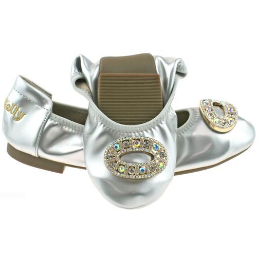LK Magiche Silver Large Diamante Detail Shoe